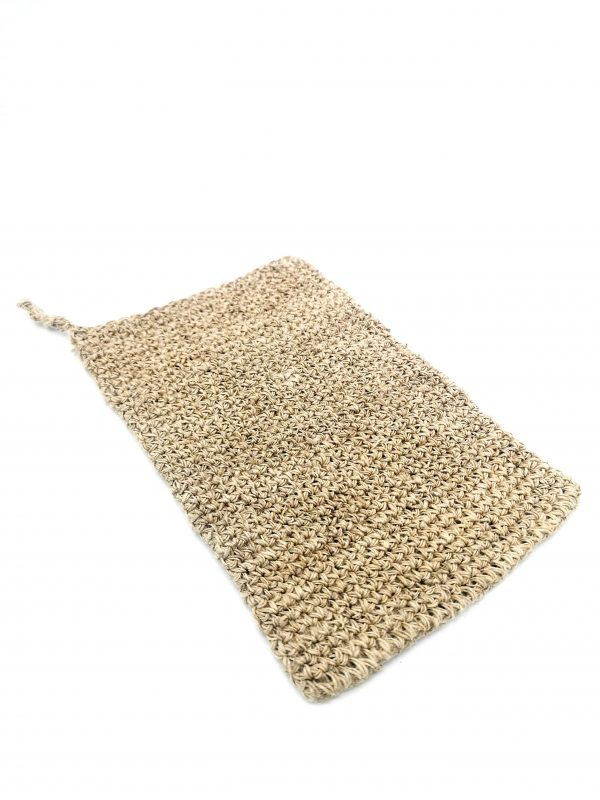 Un Gant de toilette fibres d'orties